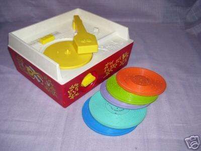 Fisher price records